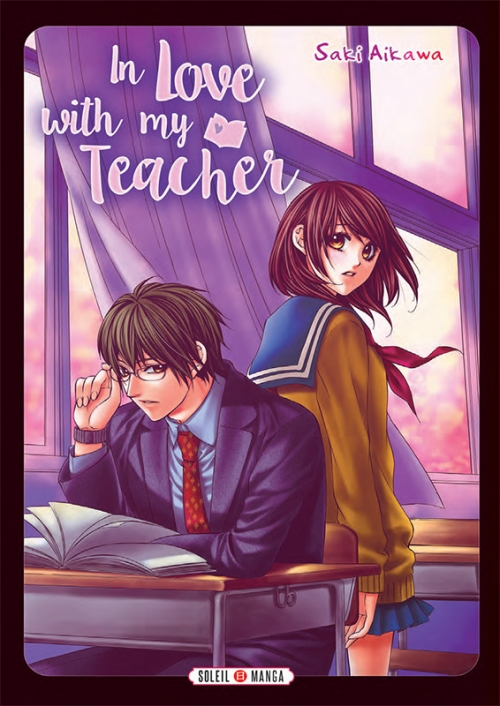 Couverture In love with my teacher