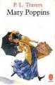 Couverture Mary Poppins Editions Le Livre de Poche 1973