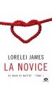 Couverture De main de maître, tome 1 : La novice Editions Milady (Romantica) 2016