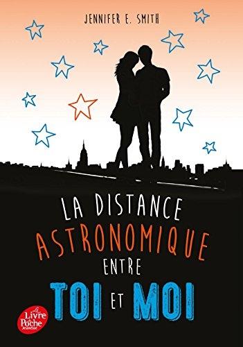 Couverture La distance astronomique entre toi et moi