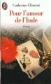 Couverture Pour l'amour de l'Inde Editions J'ai Lu 1999