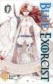 Couverture Blue Exorcist, tome 17 Editions Kazé (Shônen) 2016