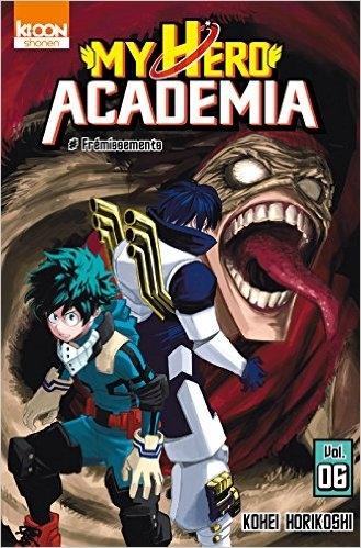 Couverture My Hero Academia, tome 06 : Frémissements