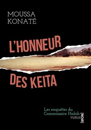 Couverture L'honneur des Kéita
