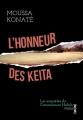 Couverture L'honneur des Kéita Editions Fayard (Noir) 2012