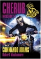 Couverture Cherub, tome 17 : Commando Adams Editions Casterman 2016