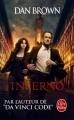 Couverture Robert Langdon, tome 4 : Inferno Editions Le Livre de Poche 2016