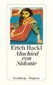 Couverture L'adieu à Sidonie Editions Diogenes 1991