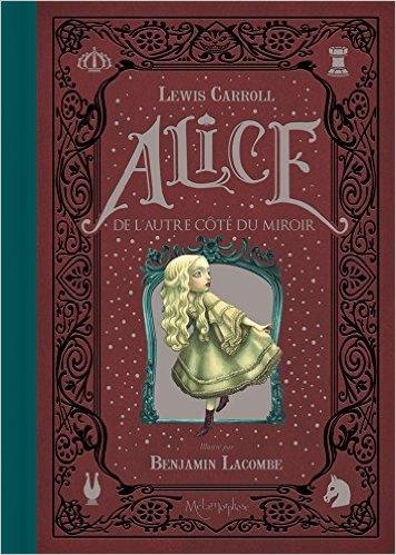 Couverture Alice de l'autre côté du miroir (Lacombe)