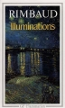 Couverture Illuminations Editions Flammarion (GF) 1993