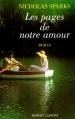 Couverture Les pages de notre amour Editions Robert Laffont 1997