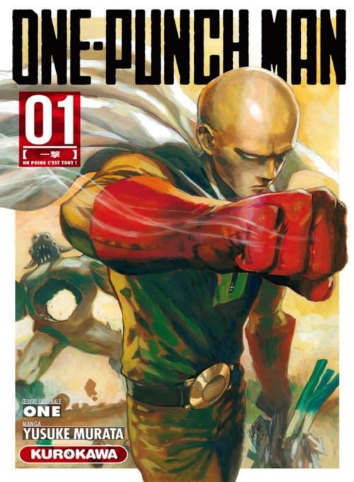 Couverture One Punch Man, tome 1 : Un poing c'est tout !