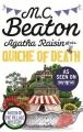 Couverture Agatha Raisin enquête, tome 01 : La quiche fatale Editions Little, Brown and Company 2014