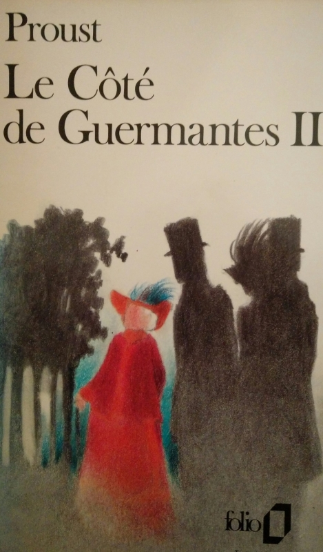 Couverture Le Côté de Guermantes, tome 2