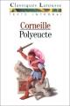 Couverture Polyeucte Editions Larousse (Classiques) 1991