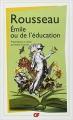 Couverture Emile ou de l'éducation Editions Flammarion (GF) 2009