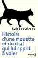 Couverture L'histoire d'une mouette et du chat qui lui apprit à voler Editions Métailié 2004