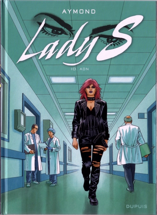 Couverture Lady S, tome 10 : ADN