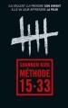 Couverture Méthode 15-33 Editions France Loisirs (Thriller) 2016