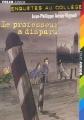 Couverture Le Professeur a disparu Editions Folio  (Junior) 2006