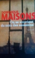 Couverture On se souvient du nom des assassins Editions Le Grand Livre du Mois (Le Club) 2016