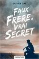 Couverture Faux frère, vrai secret Editions Castelmore 2016