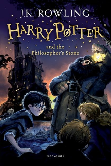 Couverture Harry Potter, tome 1 : Harry Potter à l'école des sorciers