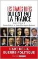 Couverture Les grands duels qui ont fait la France Editions Perrin 2014