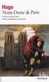 Couverture Notre-Dame de Paris Editions Folio  (Classique) 2009