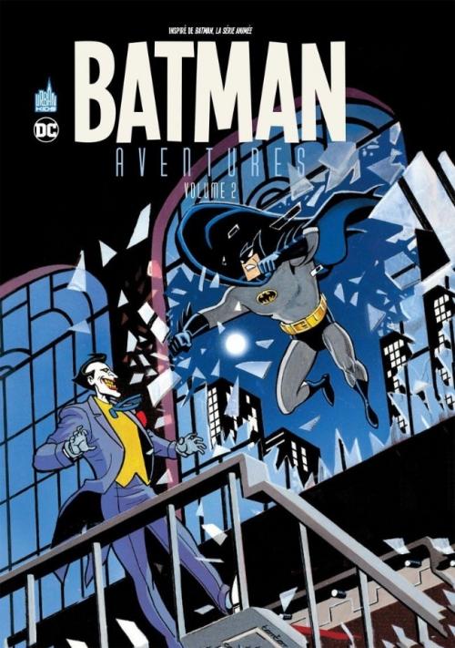 Couverture Batman Aventures, tome 2