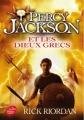 Couverture Percy Jackson et les Dieux Grecs Editions Le Livre de Poche (Jeunesse) 2016