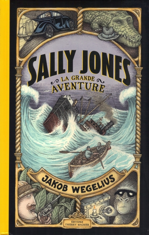 Couverture Sally Jones, la grande aventure