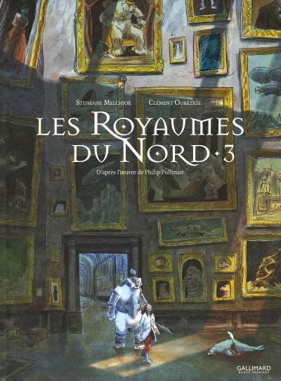 Couverture Les royaumes du nord (BD), tome 3