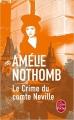 Couverture Le crime du comte Neville Editions Le Livre de Poche 2017
