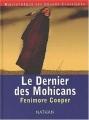 Couverture Le dernier des Mohicans, abrégée Editions Nathan 2002