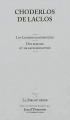 Couverture Les Liaisons dangereuses Editions La Bibliothèque (Jean d'Ormesson) 2011
