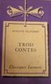 Couverture Trois contes Editions Larousse (Classiques) 1953