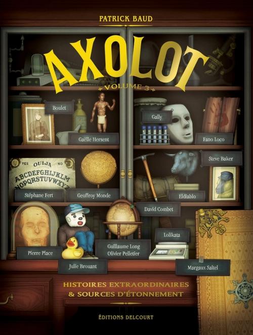 Couverture Axolot, tome 3
