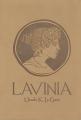 Couverture Lavinia Editions L'Atalante 2016