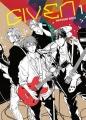 Couverture Given, tome 1 Editions Taifu comics (Yaoï) 2016