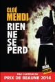 Couverture Rien ne se perd Editions Jigal (Polar) 2016