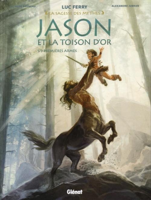 Couverture Jason et la toison d'or, tome 1 : Premières armes