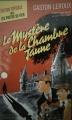 Couverture Le mystère de la chambre jaune Editions Flammarion (GF - Etonnants classiques) 2003