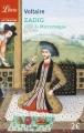 Couverture Zadig et autres contes Editions Librio (Littérature) 2015