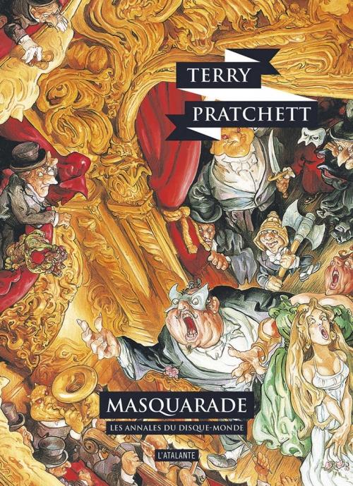 Couverture Les Annales du Disque-Monde, tome 18 : Masquarade