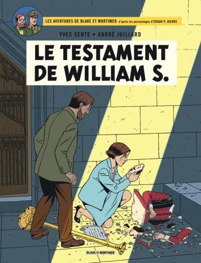 Couverture Blake et Mortimer, tome 24 : Le testament de William S.
