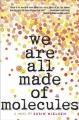 Couverture On est tous faits de molécules Editions Tundra Books  2016