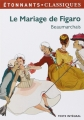 Couverture Le Mariage de Figaro Editions Flammarion (Emotions) 2013