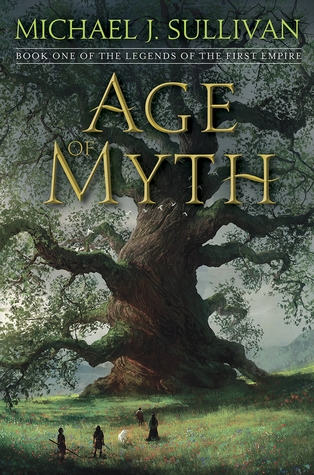 Couverture The Legends of the First Empire, book 1: Age of Myth