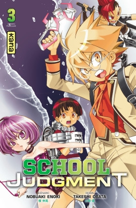 Couverture School Judgment, tome 3